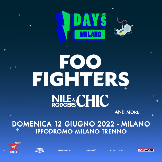 I-Days 2022 - Foo Fighters YOUparti