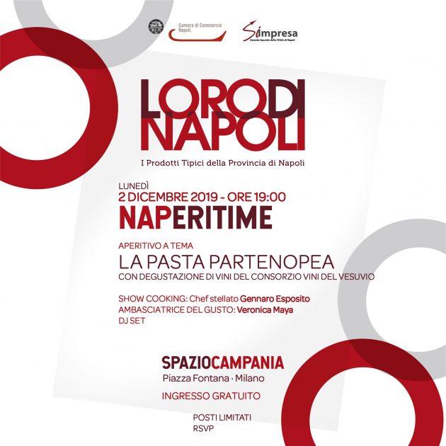 NAPeritime - Loro di Napoli YOUparti Spazio Campania Piazza Fontana Milano