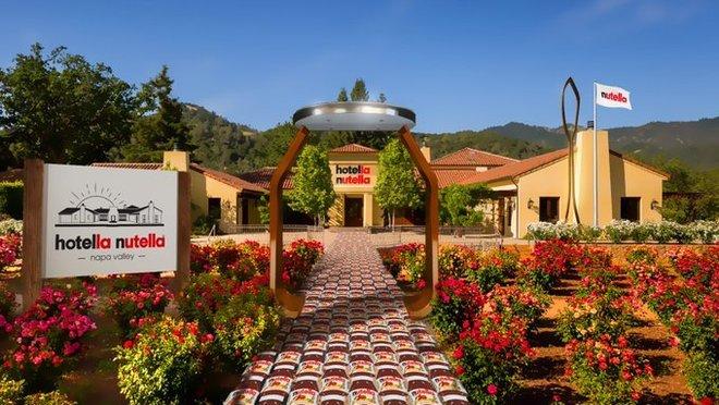 """Nasce l'""""Hotella Nutella"""", il paradiso dei golosi YOUparti ferrero napa valley california"""