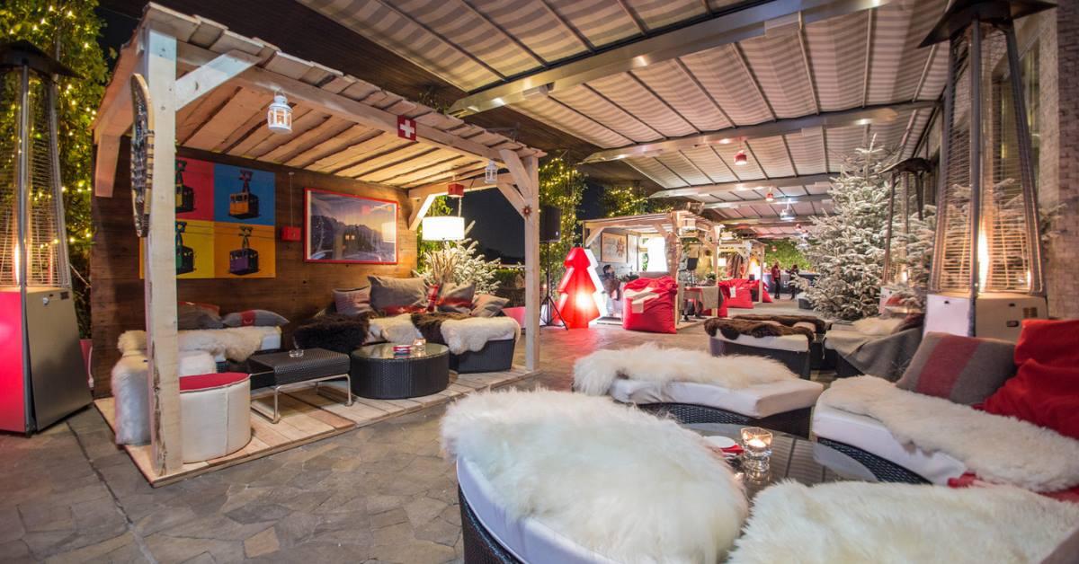 Swiss Winter Lounge L Aperitivo Svizzero In Terrazza Con
