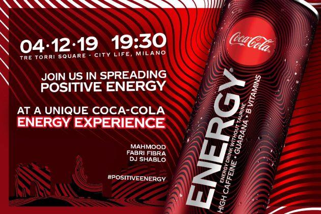 COCA-COLA Energy Experience YOUparti CityLife Piazza Tre Torri Milano