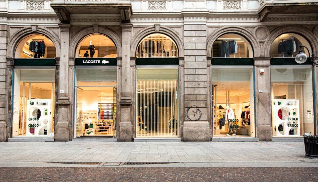 Lacoste Opening Store // via Dante,6 YOUparti duomo milano