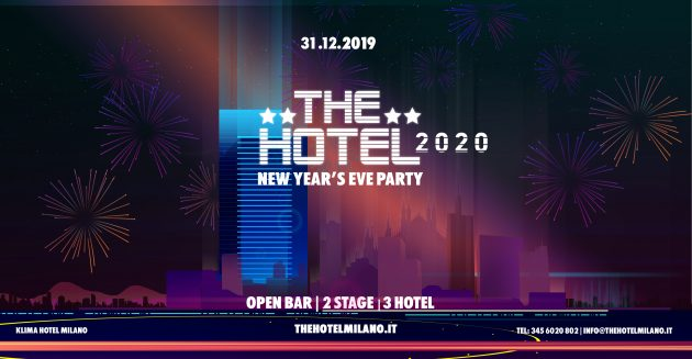 The Hotel 2020 / Official Event \ New Year's Eve Party YOUparti Klima Hotel Milano Fiere The Hub Barcelo Milan Capodanno Open Bar