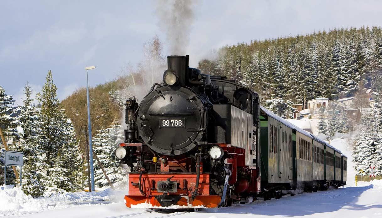 Il treno a vapore per i mercatini di Natale di Trento YOUparti