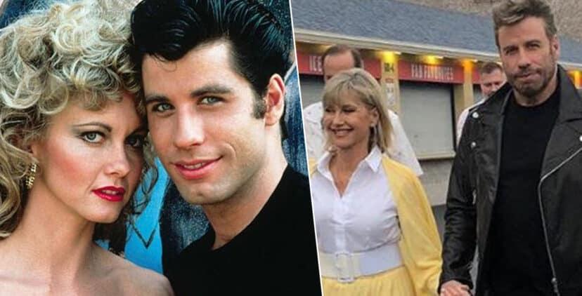 """Grease, il ritorno dopo 41 anni: John Travolta e Olivia Newton-John eterni """"Danny e Sandy"""" YOUparti"""
