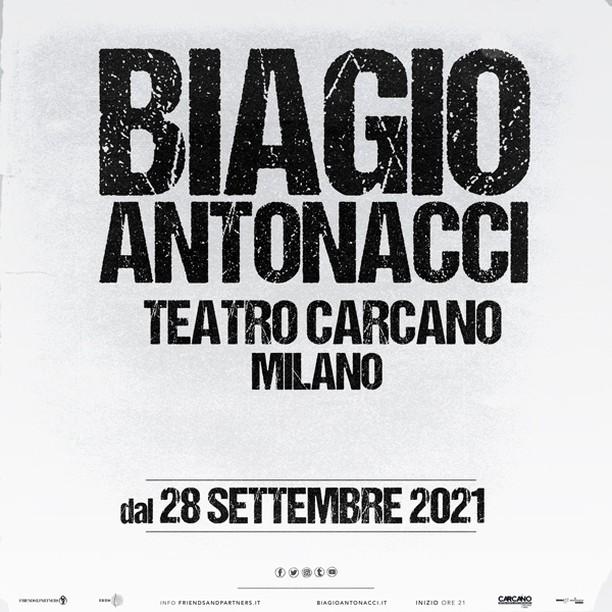 Biagio Antonacci a Milano Teatro Carcano YOUparti