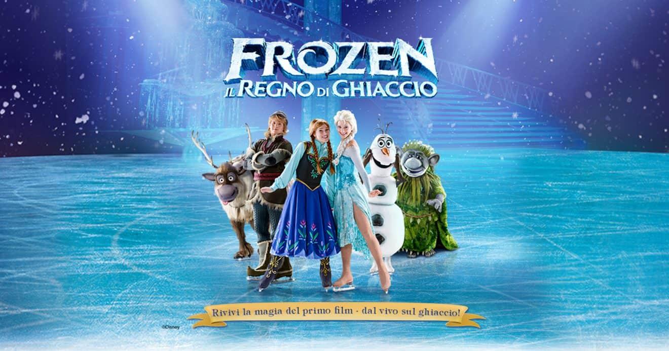 Frozen Il Regno di Ghiaccio spettacolo Milano