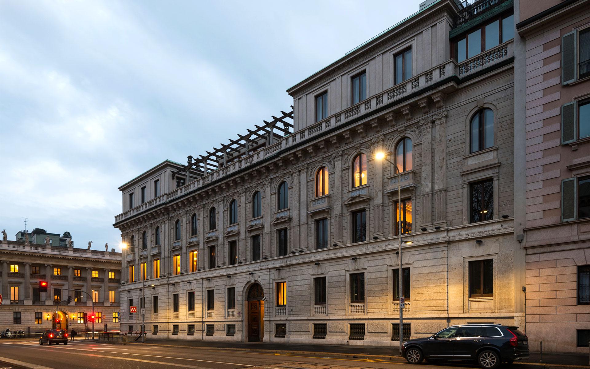 Palazzo Bernasconi Milano Cipriani