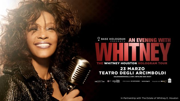 An Evening with Whitney YOUparti teatro arcimboldi milano