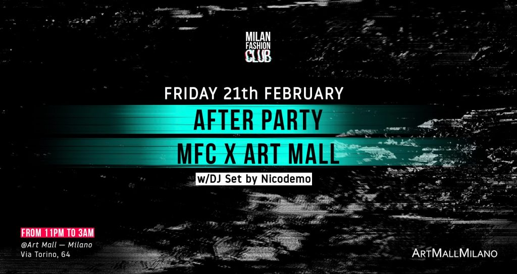 BASHAQUES AFTER PARTY MFC X ART MALL | Milan Fashion Week YOUparti