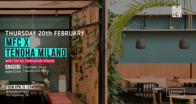 MFC X TENOHA MILANO | Milan Fashion Week YOUparti