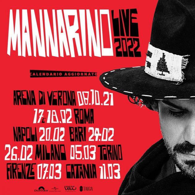 Mannarino a Milano YOUparti Mediolanum Forum Assago