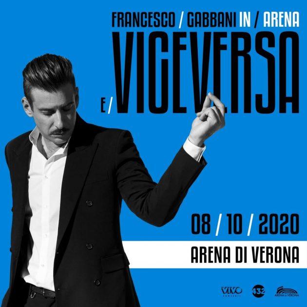 Francesco Gabbani Arena di Verona YOuparti