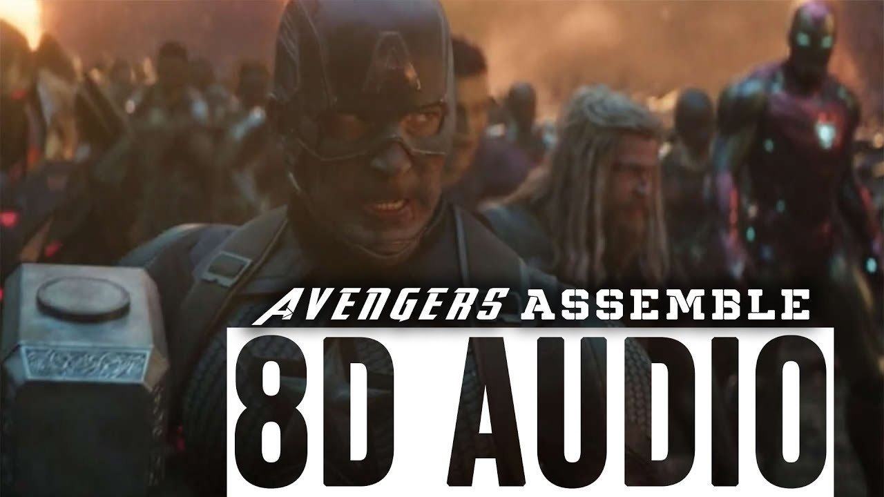 Avengers Endgame in 8D