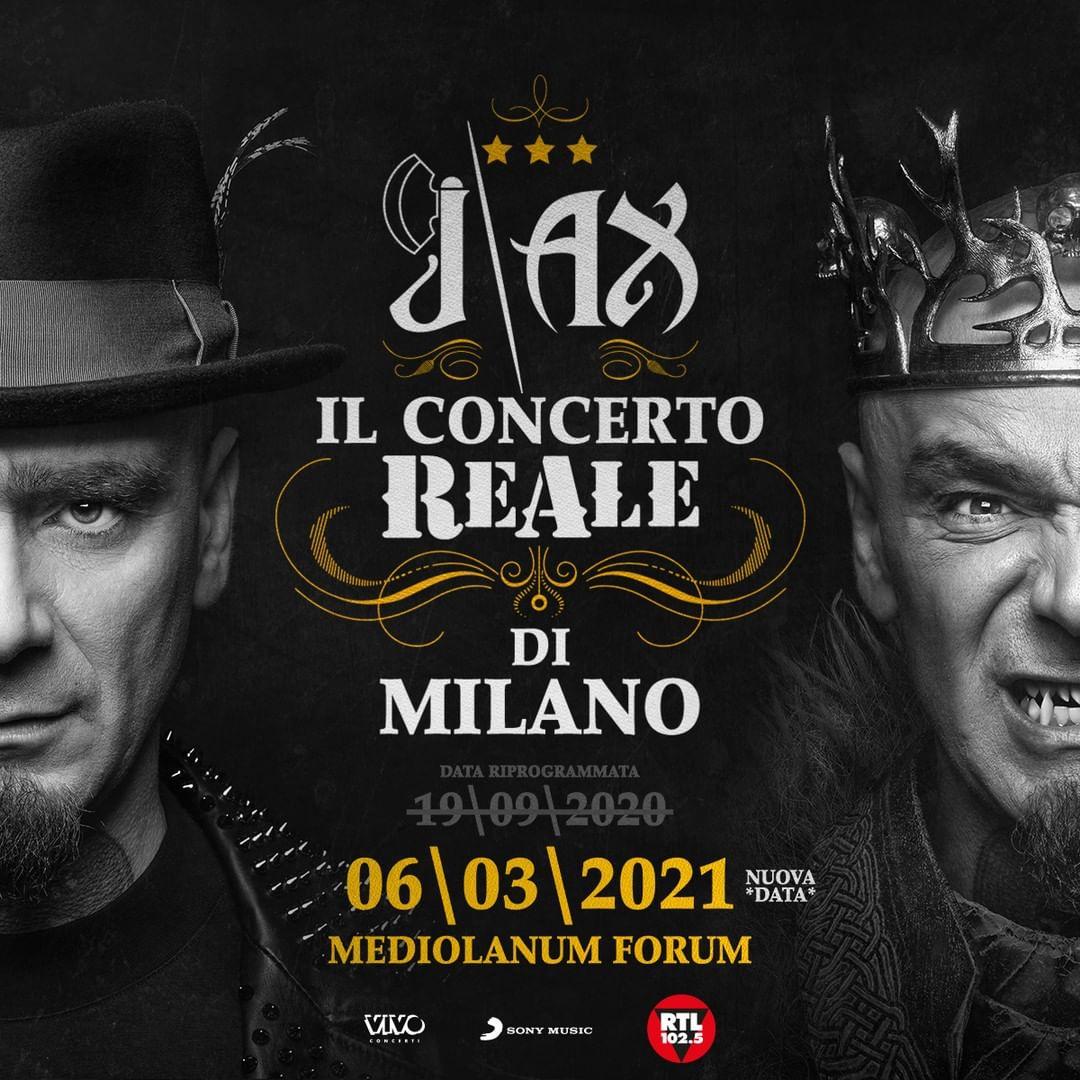 J-Ax - Concerto ReAle Mediolanum Forum Assago YOUparti
