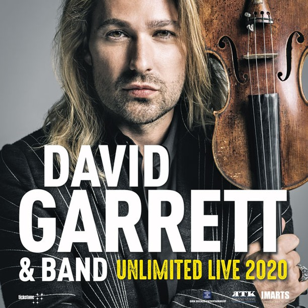 David Garrett e Band-Unlimited Live 2020 Mediolanum Forum Assago YOUparti