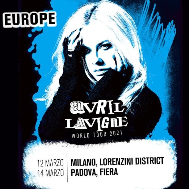 Avril Lavigne a Milano YOUparti Lorenzini District