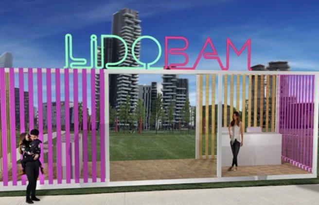 """""""Lido Bam"""", la spiaggia verde a Milano YOUparti"""