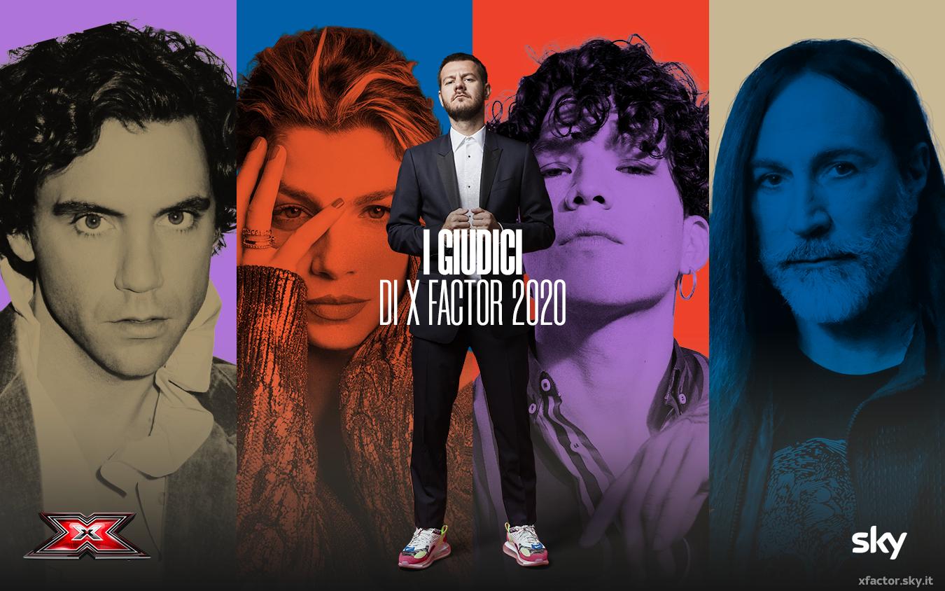 X Factor 2020: La giuria! YOUparti