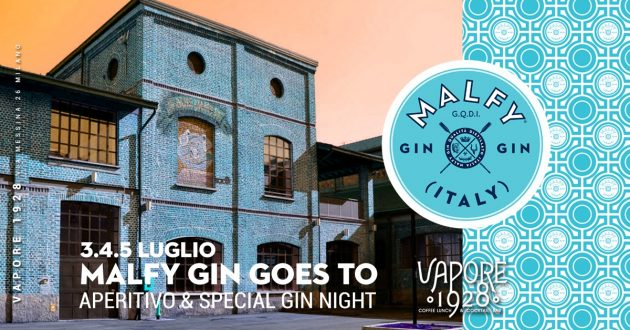 MALFY GIN goes to Vapore 1928 | Aperitivo & Cocktail Night YOUparti
