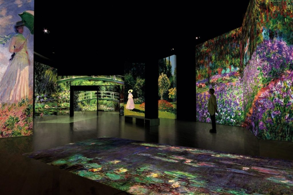 Claude Monet the immersive experience YOUparti