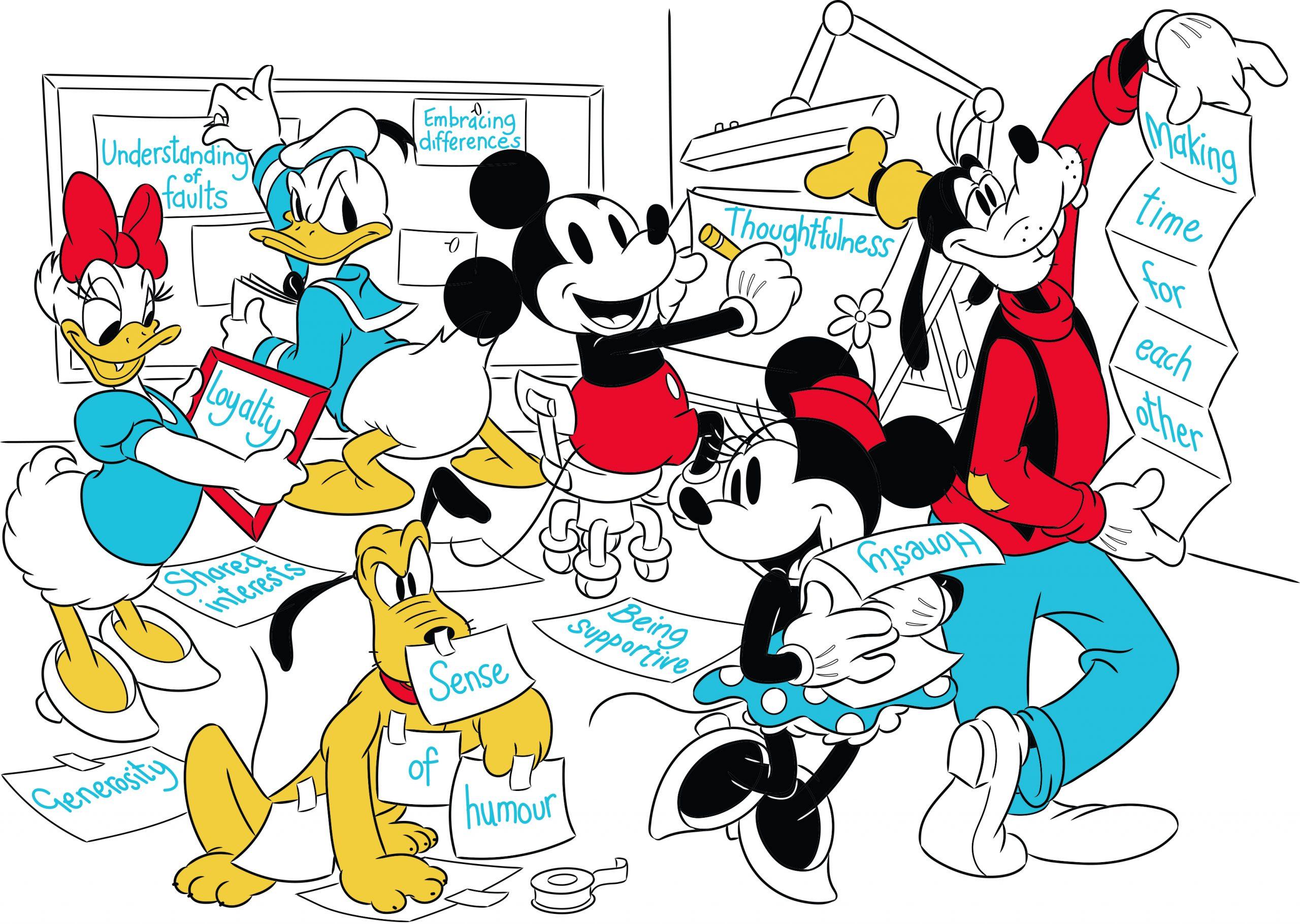 La giornata internazionale dell'amicizia con gli amici Disney YOUparti