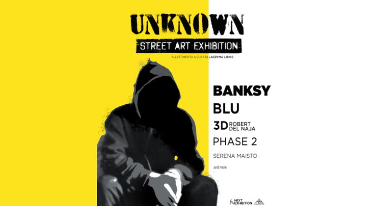 UNKNOWN - Street Art Exhibition YOUparti foyer del Teatro Arcimboldi