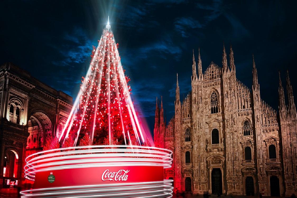 Coca Cola realizza l'albero di Natale a Milano YOUparti