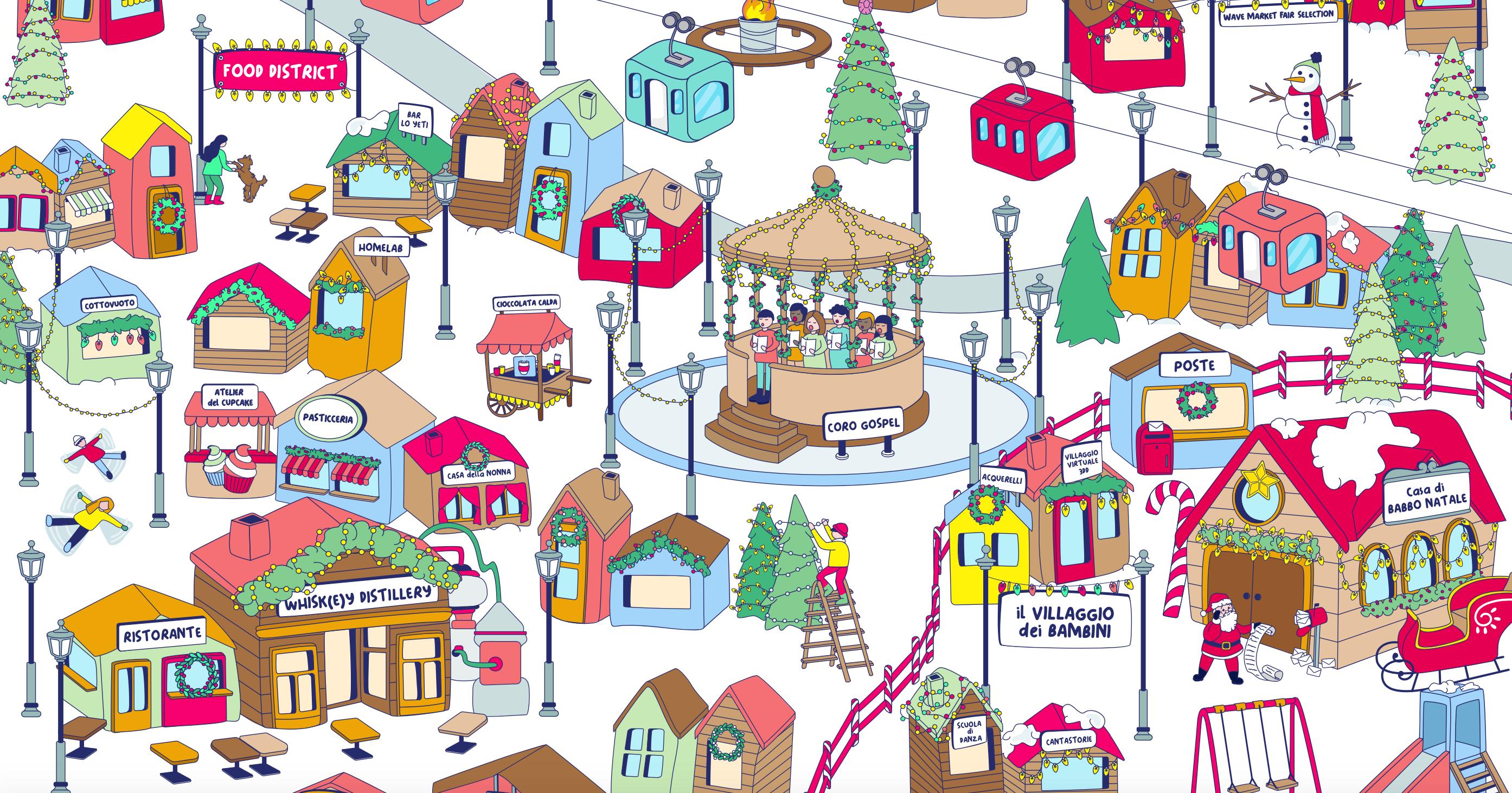 Digital Xmas — Il villaggio di Natale online YOUparti