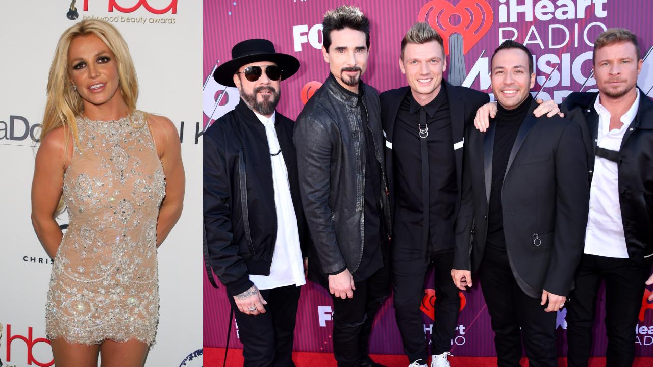 Britney Spears e i Backstreet Boys finalmente insieme YOUparti