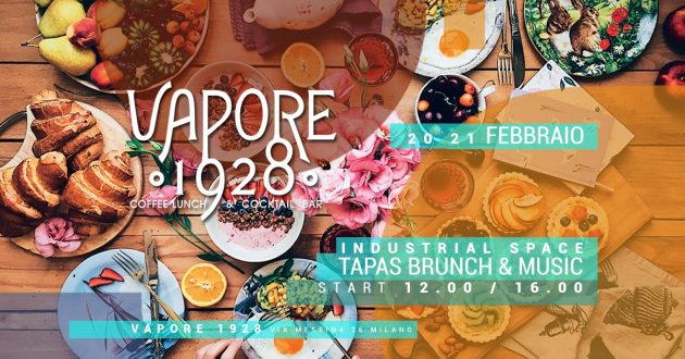 VAPORE 1928 | Brunch in the Industrial Space YOUparti