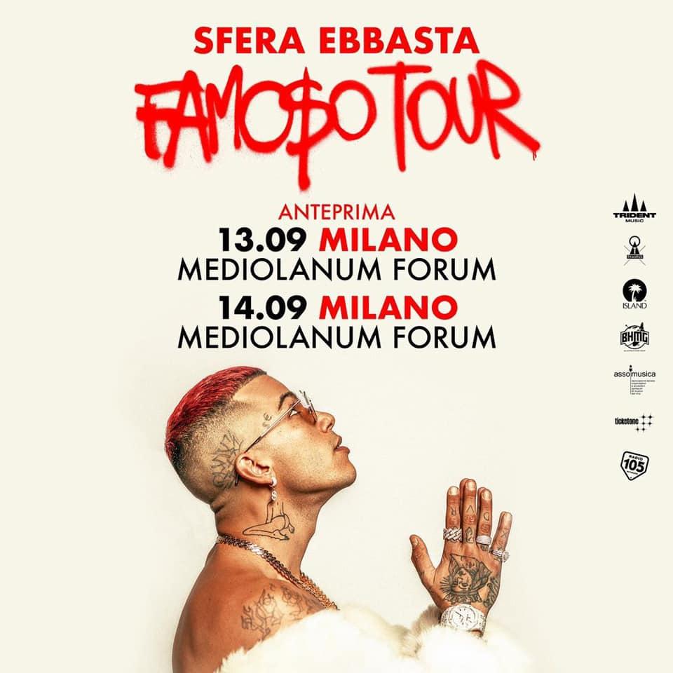 Sfera Ebbasta a Milano YOUparti
