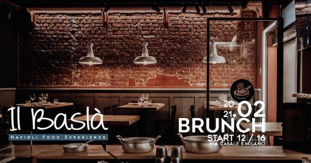 BRUNCH @ IL BASLA' # Navigli Food Experience YOUparti