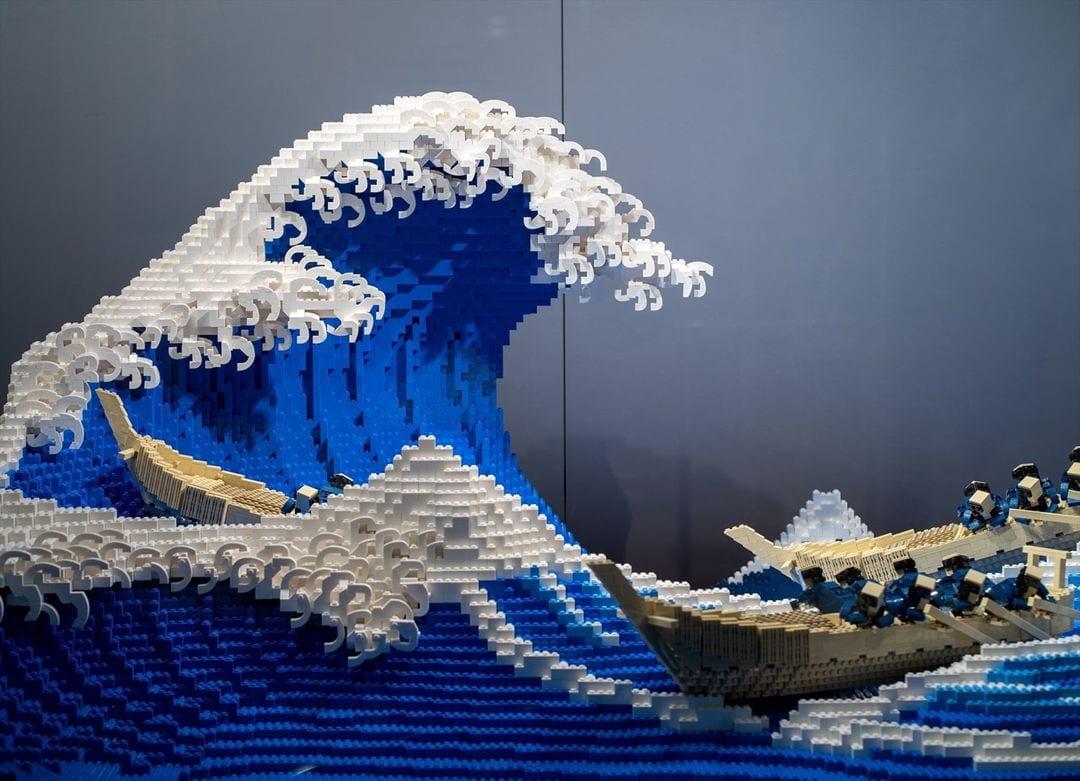 """""""La grande onda"""" in 50000 mattoncini Lego YOUparti"""