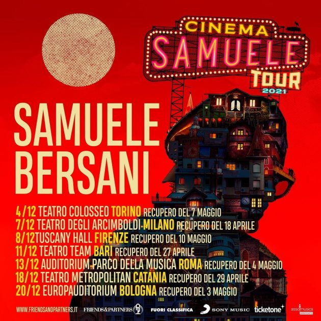 Samuele Bersani a Milano YOUparti