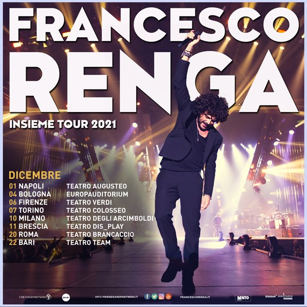 Francesco Renga a Milano YOUparti