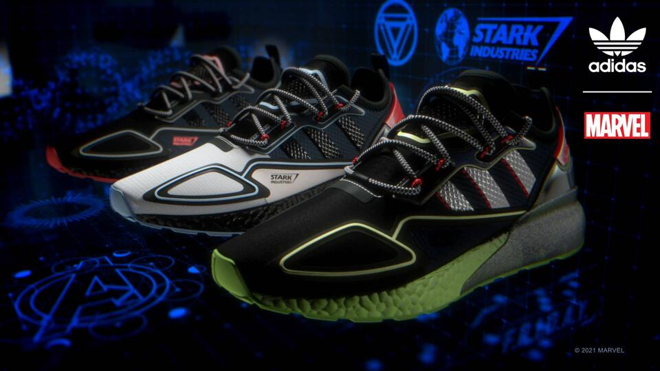 Marvel e Adidas insieme per le nuove sneakers ispirate ad Iron Man