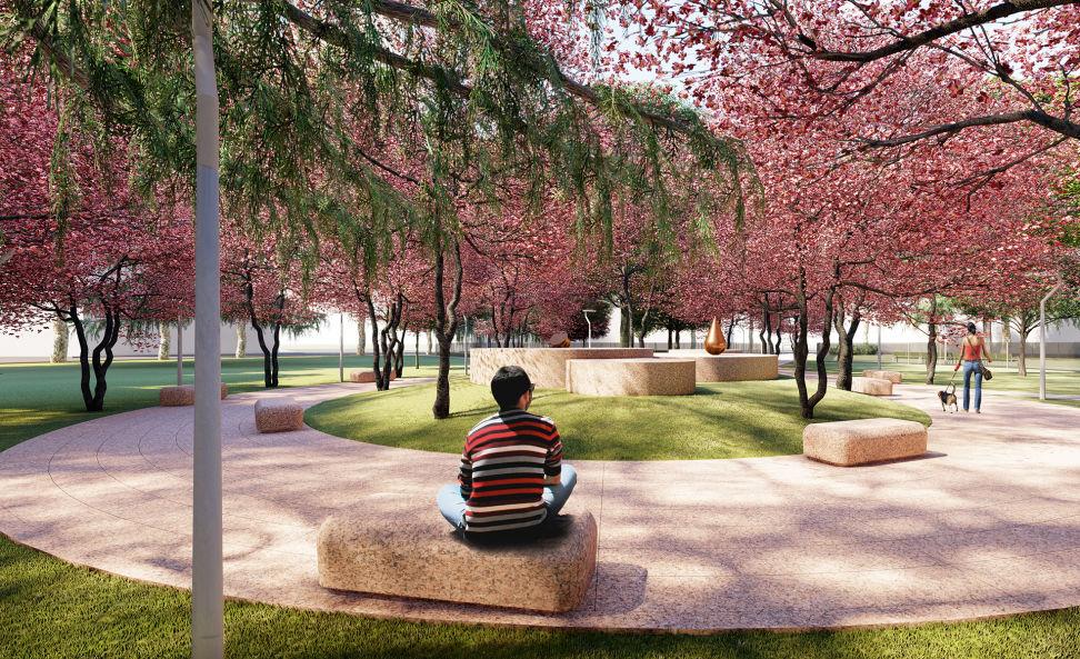 """Un giardino """"Zen"""" nel centro di Milano"""