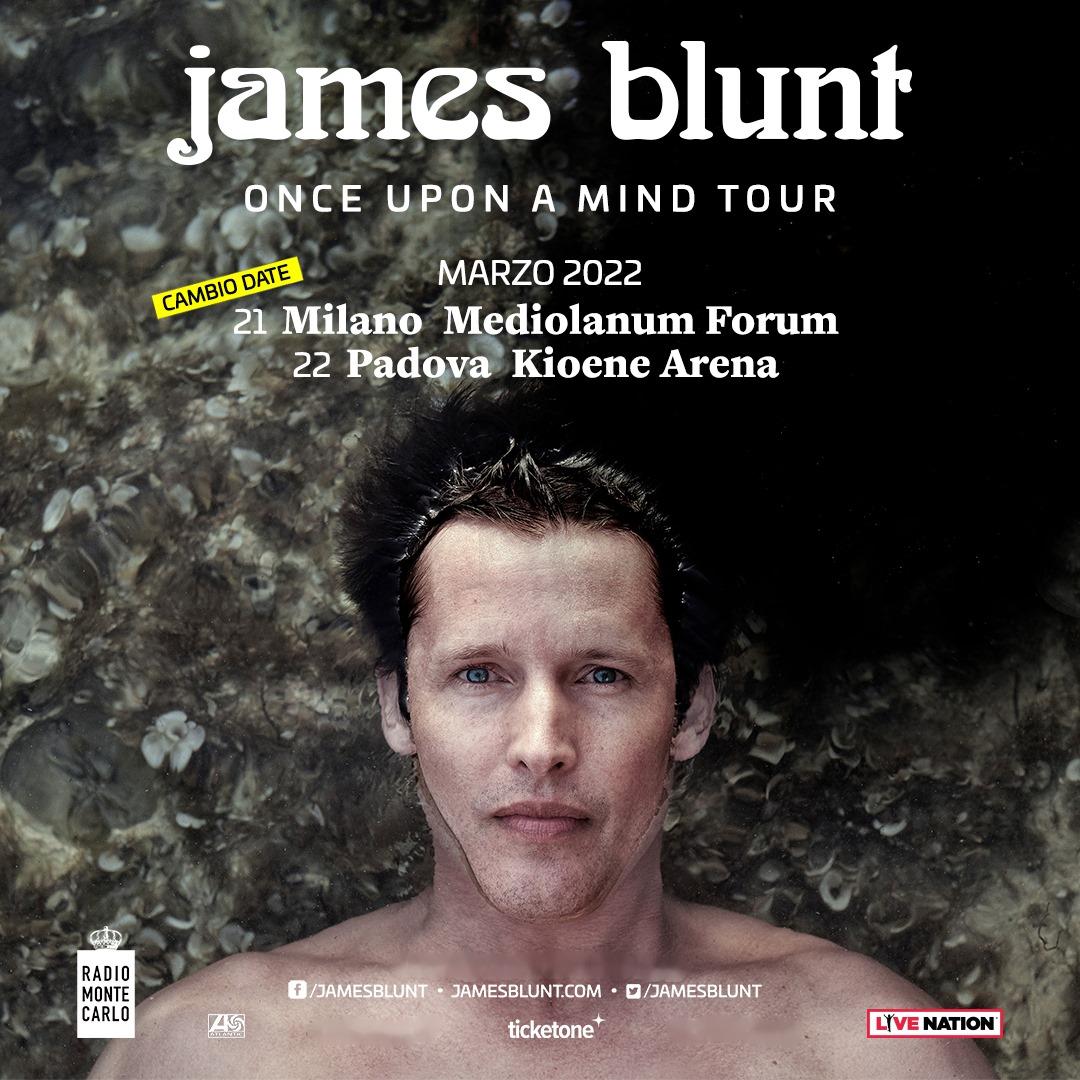 James Blunt a Milano