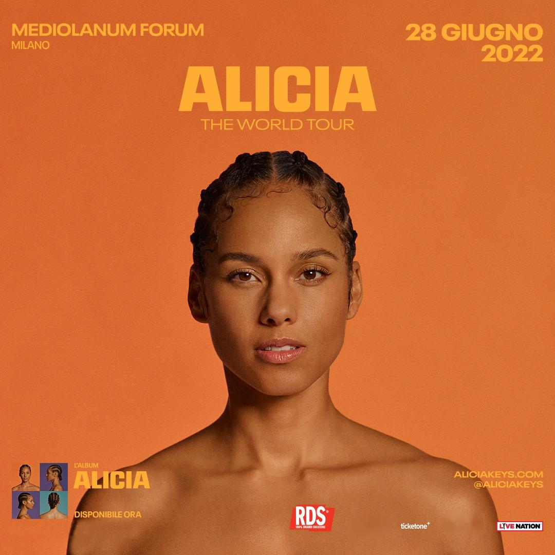 Alicia Keys a Milano YOUparti