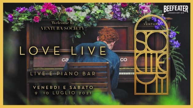 VENTURA SOCIETY ❃ Welcome ❃ LOVE LIVE & PIANO BAR ❃ YOUparti