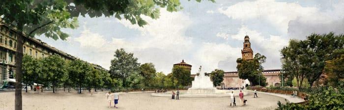 Piazza Castello si rifà il look YOUparti